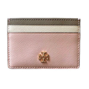 Tory Burch Color Block Leather Card Case - NWT